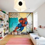 Ideas para decorar un dormitorio de Spiderman