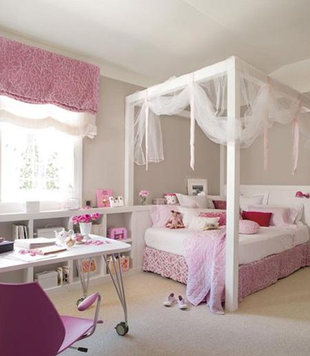 10 habitaciones infantiles de princesas habitaciones - Habitaciones infantiles tematicas ...