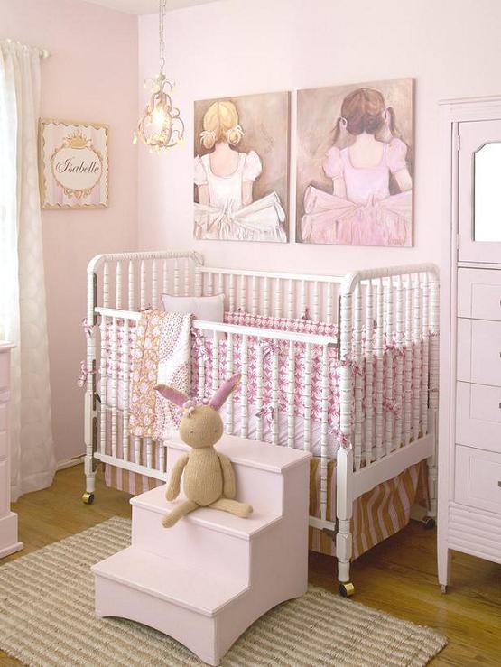 Habitación de bebé Ballet