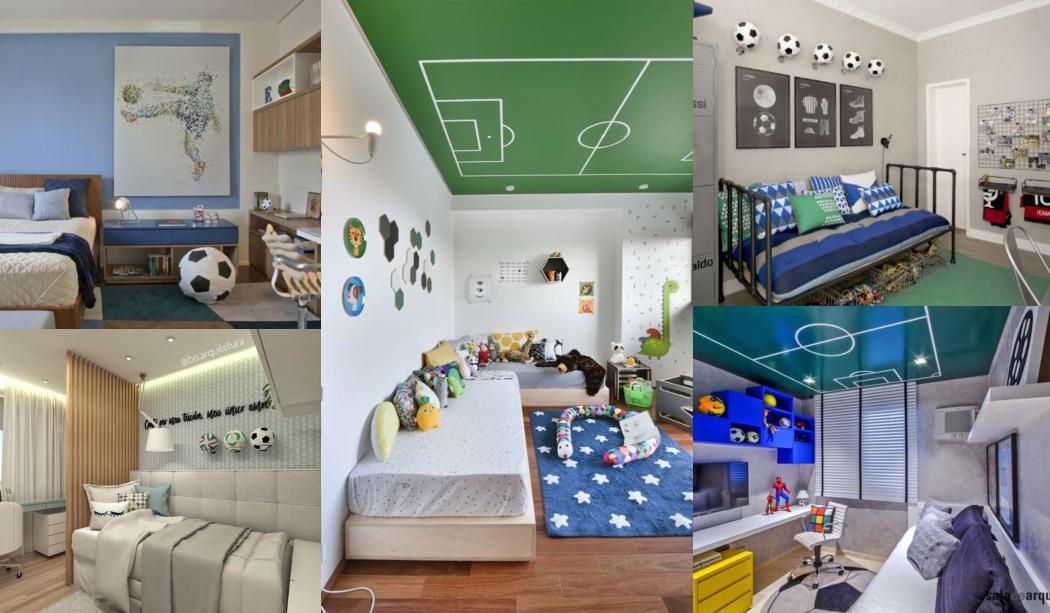 15 habitaciones infantiles de f tbol habitaciones tematicas - Habitaciones infantiles tematicas ...