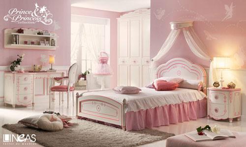 10 habitaciones infantiles de princesas habitaciones - Habitaciones juveniles clasicas ...