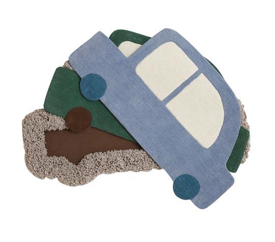Alfombras infantiles para habitaciones de coches