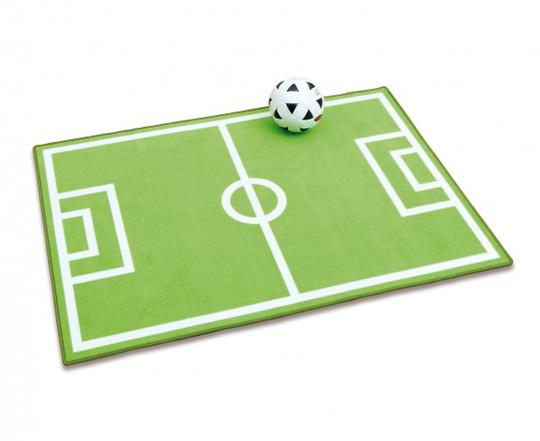 Alfombras infantiles campo de futbol