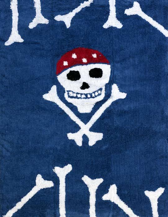 Alfombra Juvenil Pirata Habitaciones Tematicas