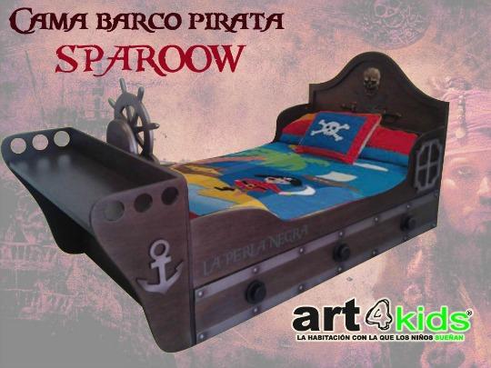 Cama infantil Pirata