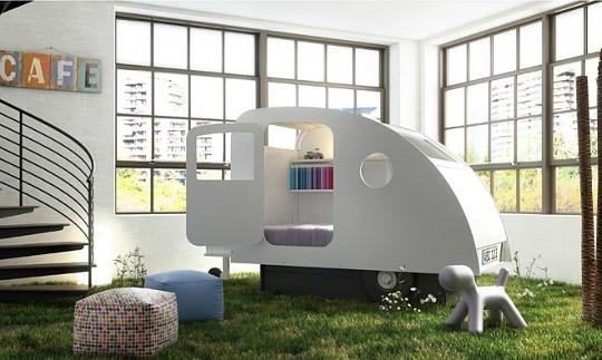 Dormir en un caravana