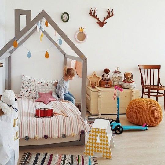 9 Camas casita para niños