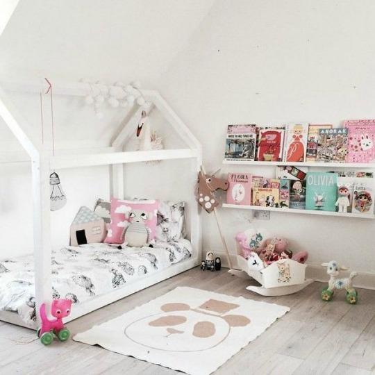 9 camas casita para ni os habitaciones tematicas - Cama casita infantil ...