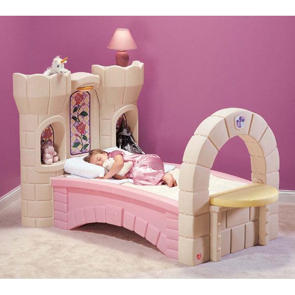 Cama castillo para chicas habitaciones tematicas - Camas para chicas ...