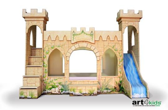 Castillo de Princesas modelo De Luxe