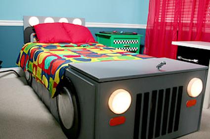 Como hacer una cama con forma de coche