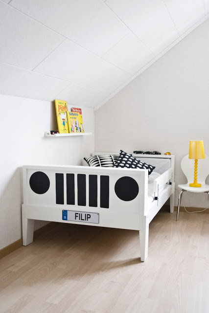 Hazlo tú mismo: cama coche