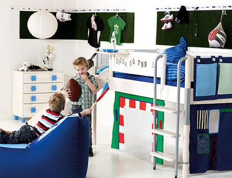 Decoración habitación infantil Futbol