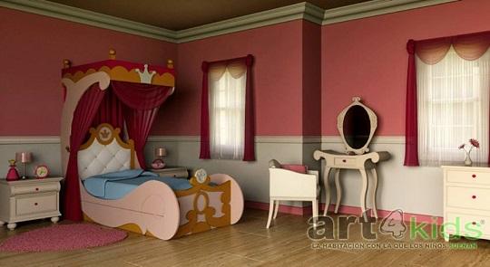 La cama de una princesa