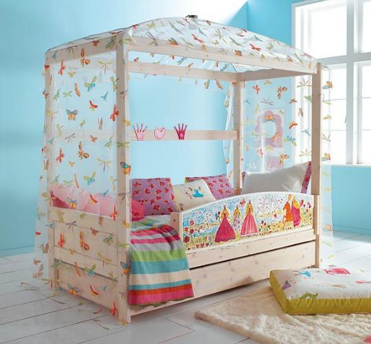 Princesas habitaciones tematicas - Cama de princesa para nina ...