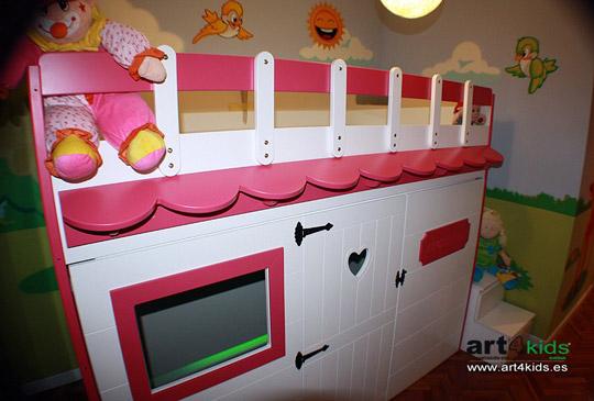 Casita infantil para dormir habitaciones tematicas - Habitaciones infantiles tematicas ...