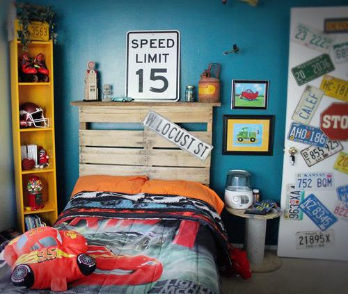 Habitaciones infantiles de coches