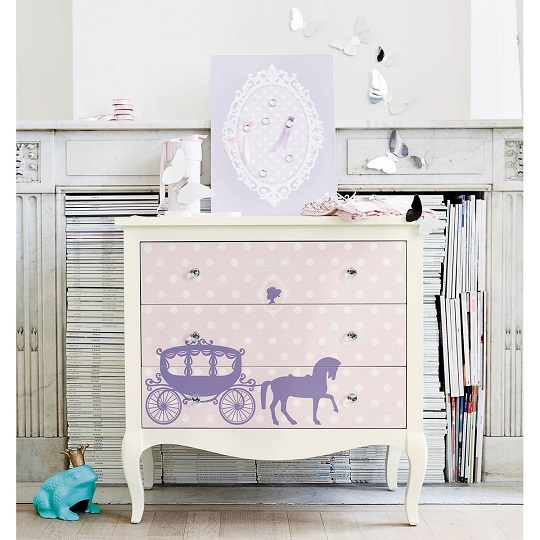 princesas habitaciones tematicas. Black Bedroom Furniture Sets. Home Design Ideas