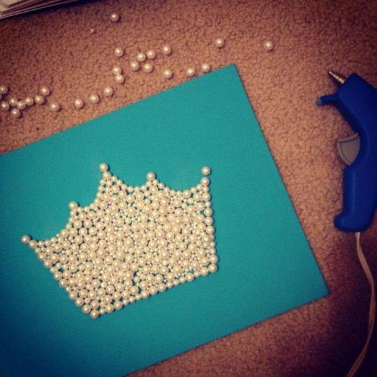 Decoración homemade para habitaciones de Princesas