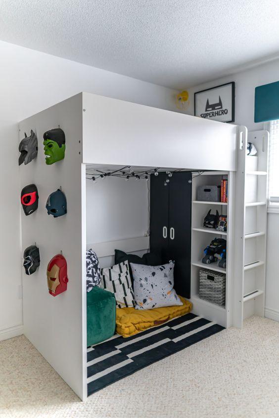 Habitación superheroes