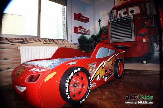 decoracion-cars-1 Dormitorio temático Cars