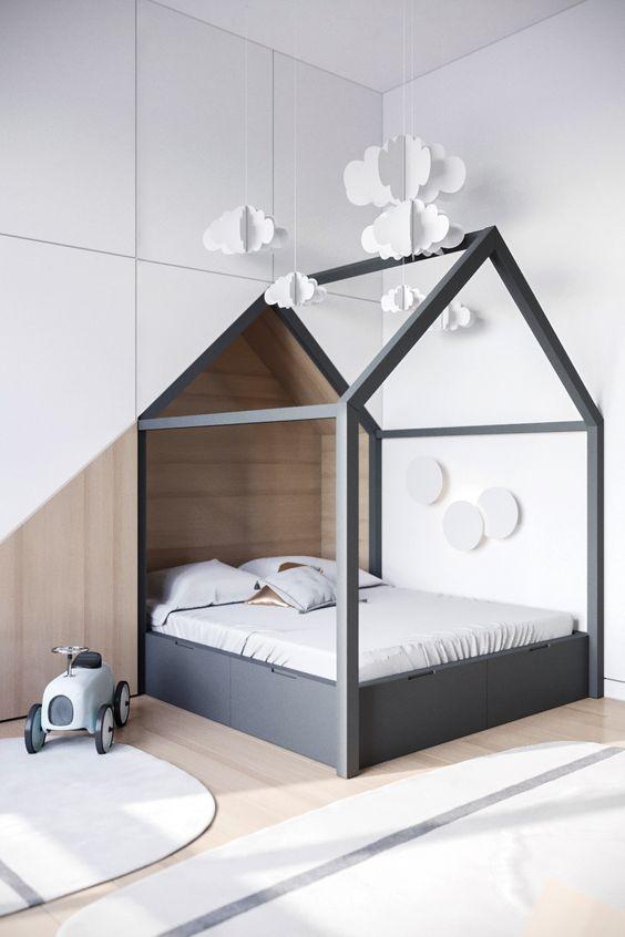 10 Habitaciones Infantiles Con Casitas Habitaciones