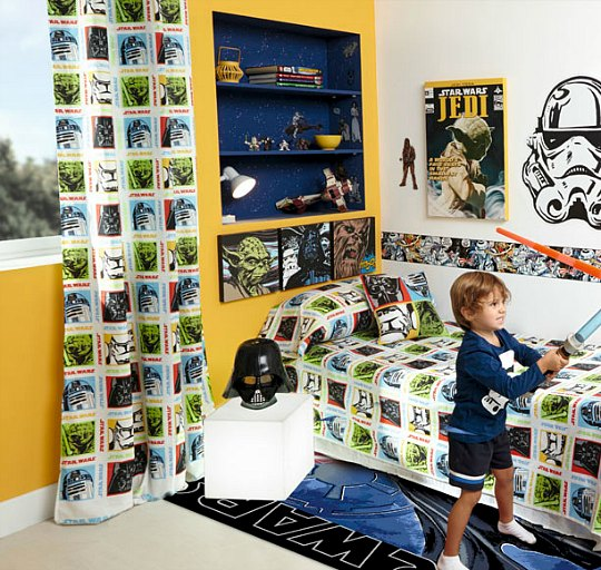 Star wars habitaciones tematicas for Decoracion habitacion infantil leroy merlin