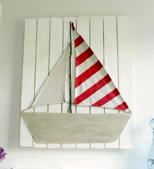 Decoraci n n utica diy habitaciones tematicas - Habitaciones infantiles marineras ...