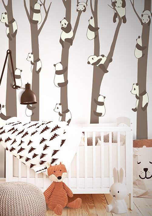 Decoración Panda para bebés y niños