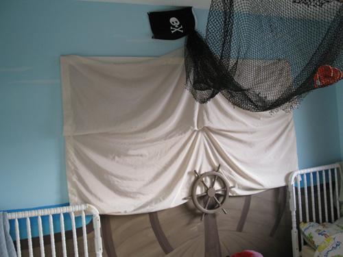 Dormitorio Pirata para bebes