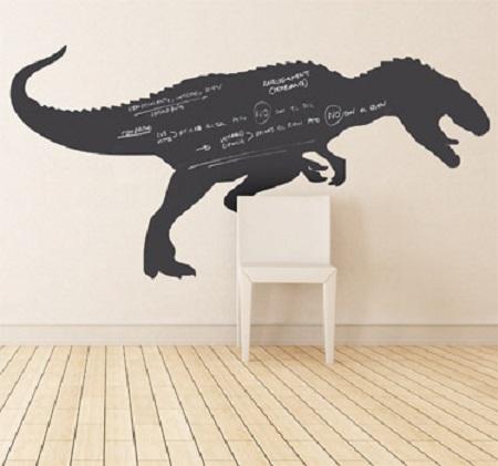 Vinilos pizarra de Dinosaurios
