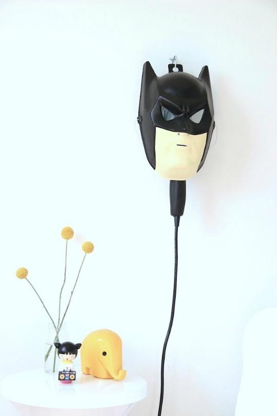 DIY Lámpara Batman