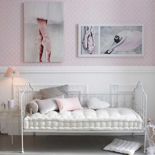 la habitaci n de una bailarina de ballet habitaciones tematicas. Black Bedroom Furniture Sets. Home Design Ideas