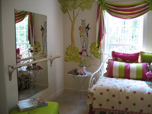 La habitaci n de una bailarina de ballet habitaciones - Papel para habitaciones juveniles ...