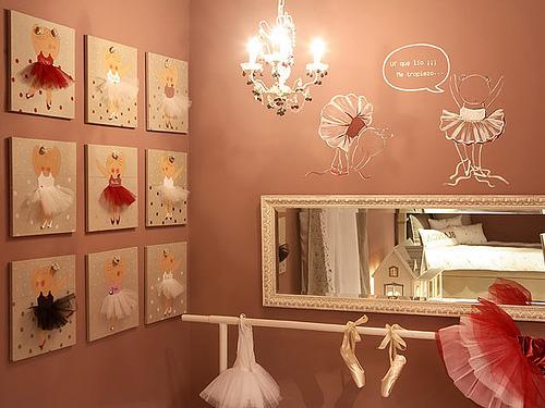 La habitaci n de una bailarina de ballet habitaciones tematicas - Fotos para decorar ...