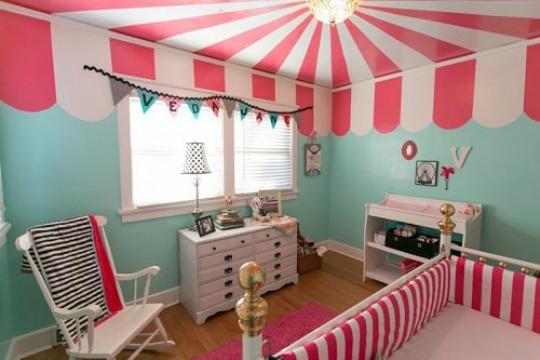 Habitaciones infantiles de temática Circo