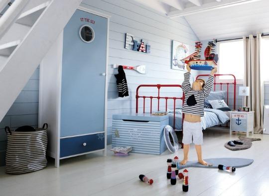 Todo para una habitación infantil Pirata