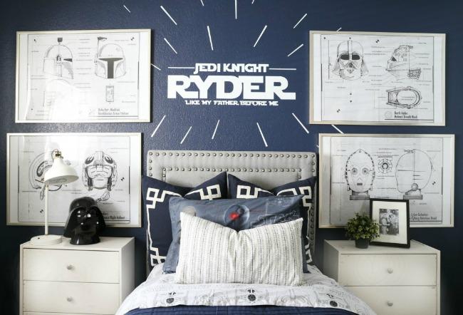 dormitorio star wars-1