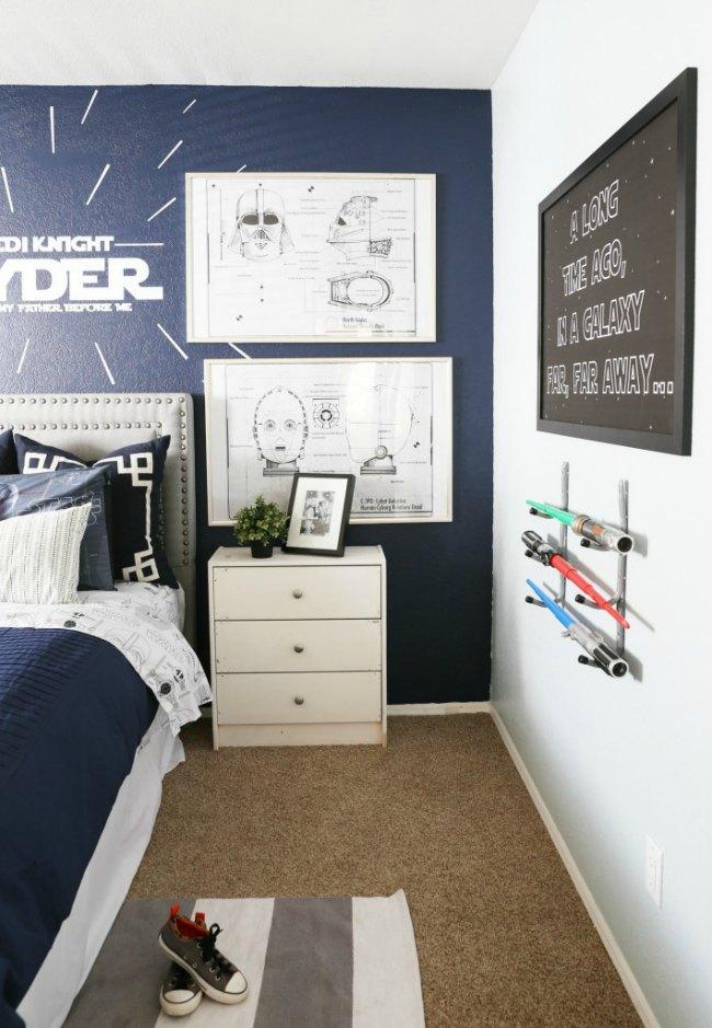 dormitorio star wars-3
