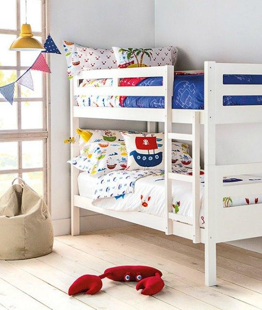 5 habitaciones de piratas modernas habitaciones tematicas for Corte ingles dormitorios infantiles