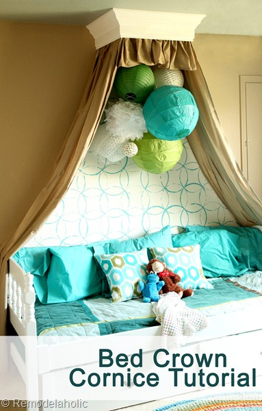Como hacer un dosel para cama de princesas