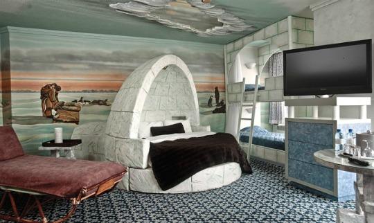 Hotel Fantasyland en Canadá