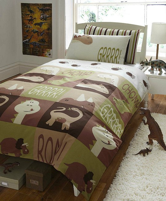 Ropa de cama de Dinosaurios