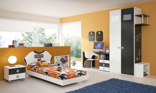 Futbol habitaciones tematicas - Habitaciones infantiles barcelona ...