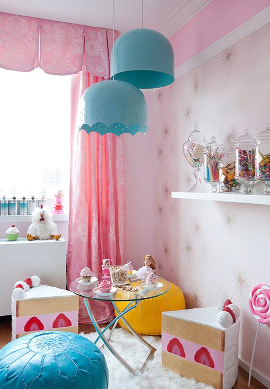 Una habitaci n infantil muy dulce habitaciones tematicas - Habitaciones infantiles tematicas ...