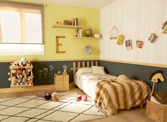 Habitación infantil temática animales