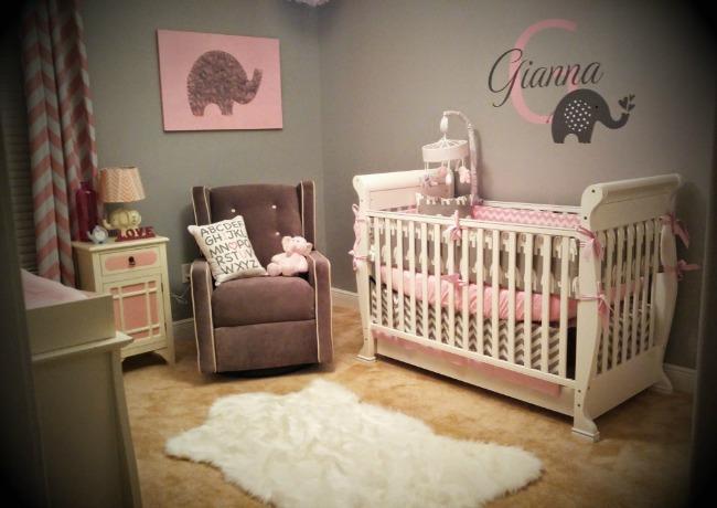 Habitación bebé temática Elefante