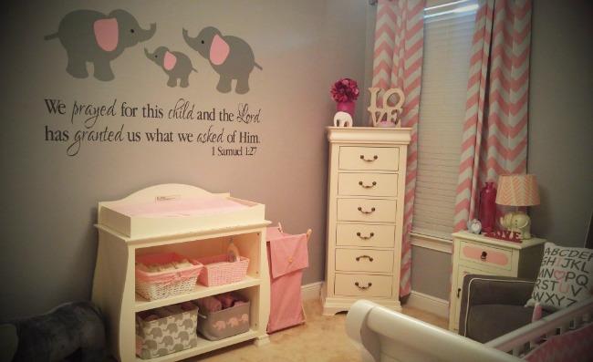Habitaci n beb tem tica elefante habitaciones tematicas - Habitacion bebe moderna ...