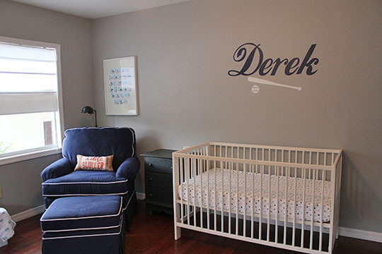 Habitaci n tem tica beisbol habitaciones tematicas - Vinilos para habitaciones de bebes ...