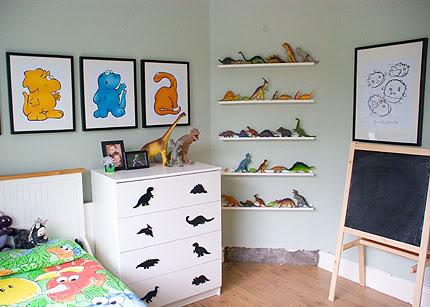 Habitaciones infantiles de dinosaurios habitaciones tematicas - Cuadros habitacion nino ...
